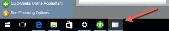Cloud Elements Quickbook Connector taskbar icon