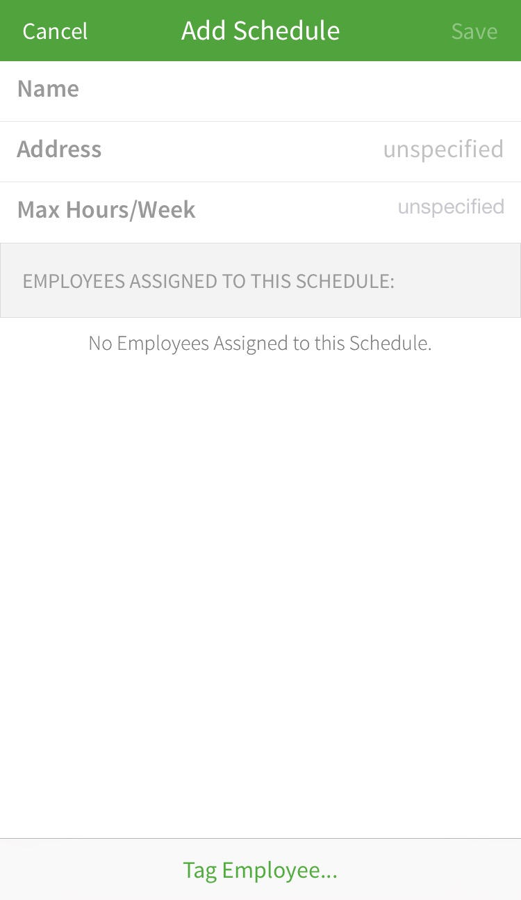 creating and managing schedules when i work help center