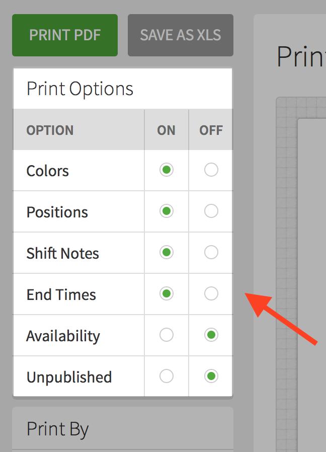 Printing the Schedule – When I Work Help Center