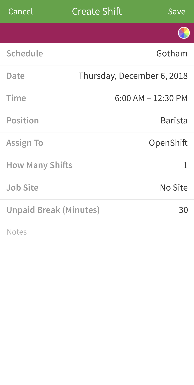 Create OpenShift