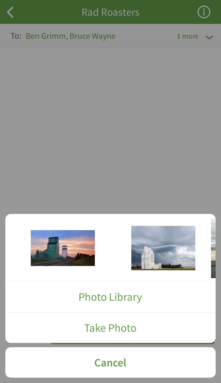 Add photo dialog