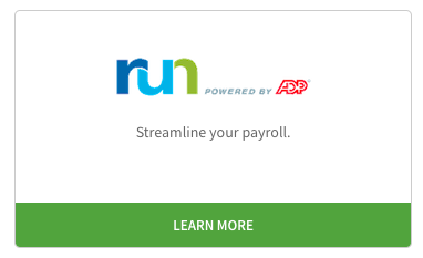 Learn more about ADP RUN