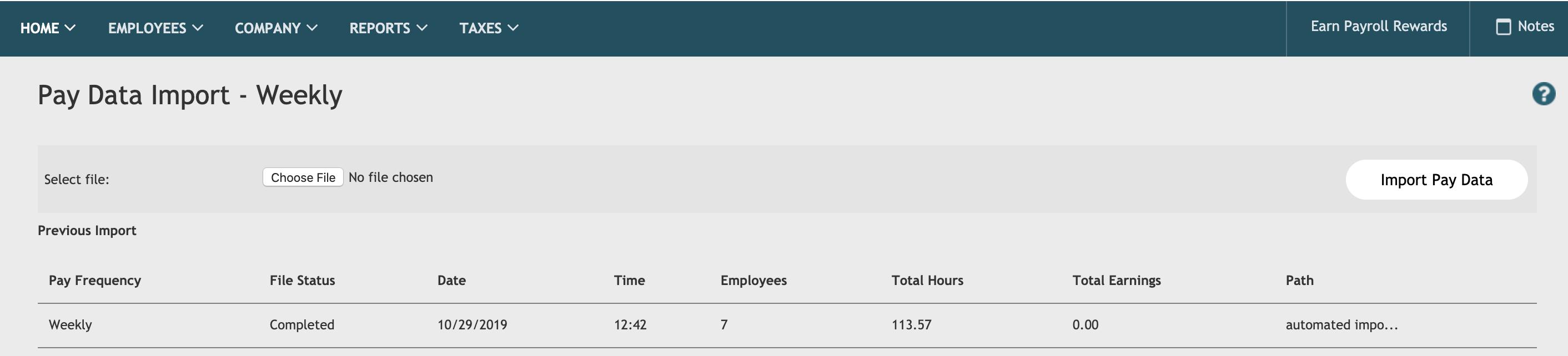 Hours display