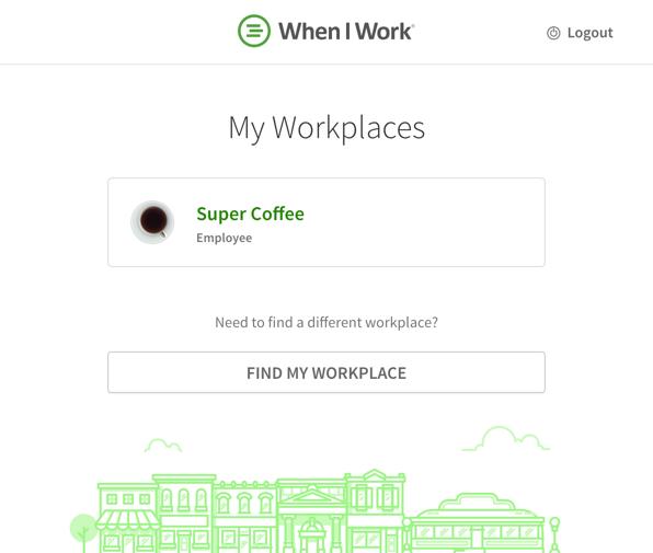 My Workplaces list
