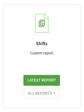 Custom report