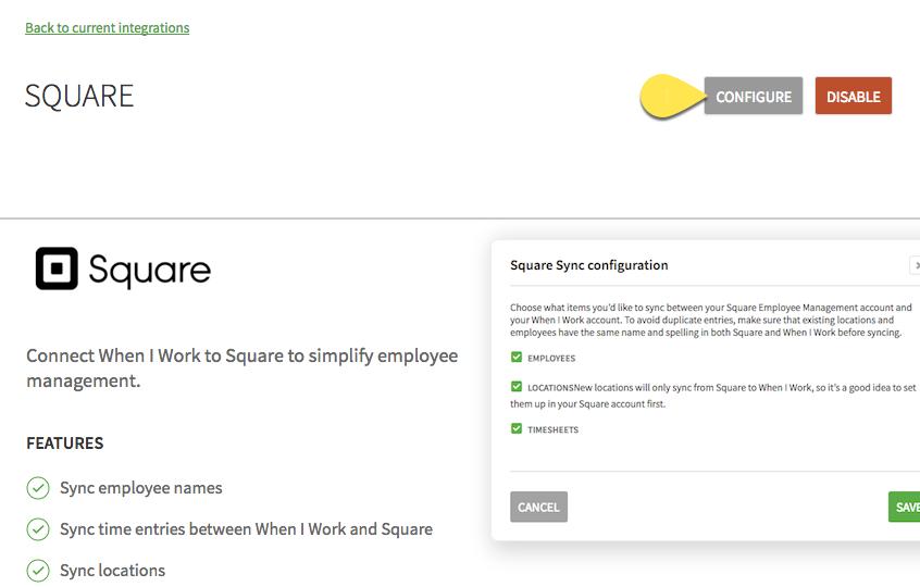 Square Integration – When I Work Help Center